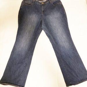 🐟 Plus size Boot Cut Denim Jeans - 20WR